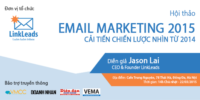 chiến lược Email Marketing 2015
