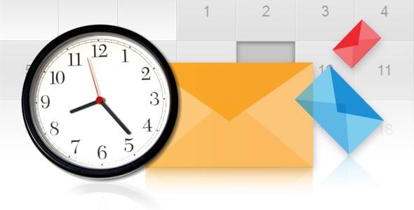 thời gian gửi email marketing