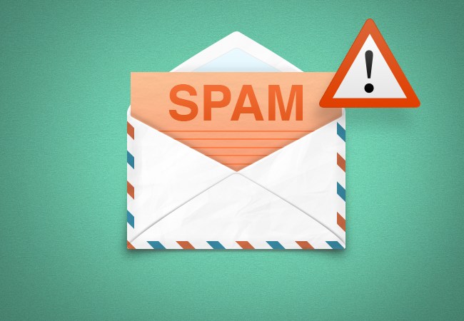 nội dung email marketing spam