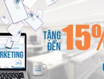 Tri ân mừng sinh nhật – LinkLeads tặng đến 15% số lượng Email Marketing cho khách hàng đăng ký