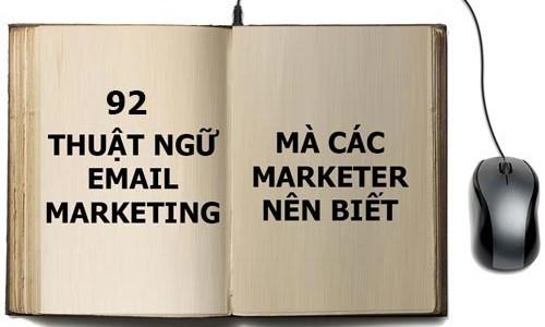 thuat ngu email marketing