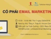 """Hội thảo """" Có phải Email Marketing đã chết"""""""