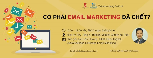 co phai email marketing da chet