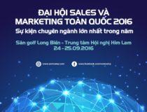 Đại hội Sale & Marketing toàn quốc 2016 đổi địa điểm đến sân Golf Long Biên – Trung tâm hội nghị Him Lam