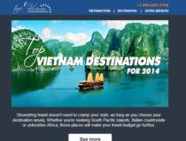 Cách viết email marketing du lịch thu hút khách hàng