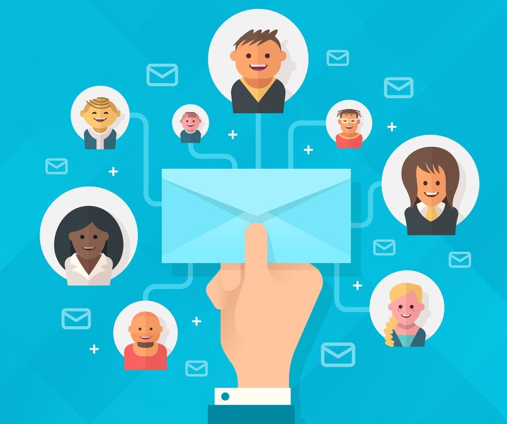 đối tượng khách hàng email